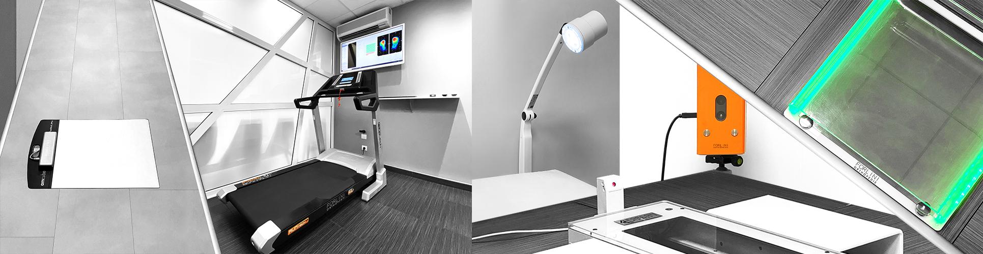 Examen podologique Forlini Orthopédie